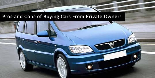 Buying Cars From Private Owners